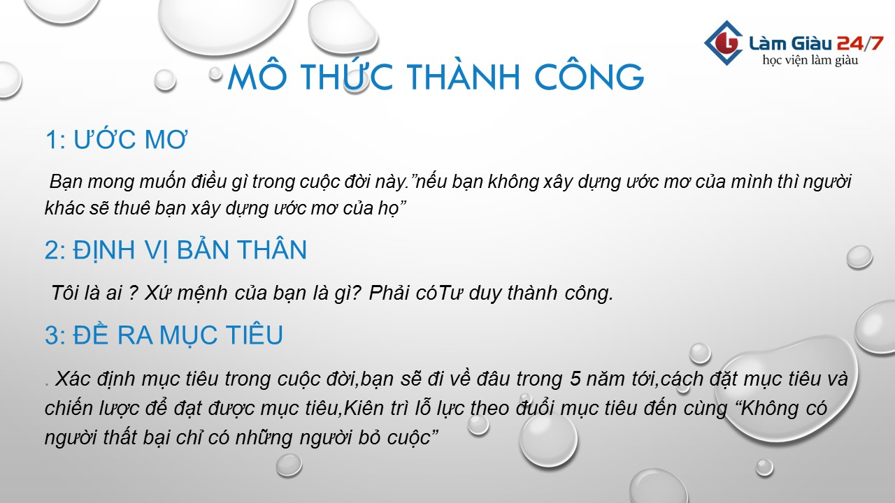bi quyet thanh cong trong cuoc song