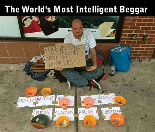 tràng ăn xin thông minh nhất thế giới