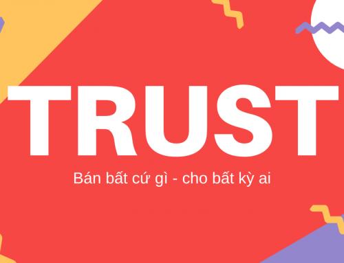 Quy trình bán hàng TRUST